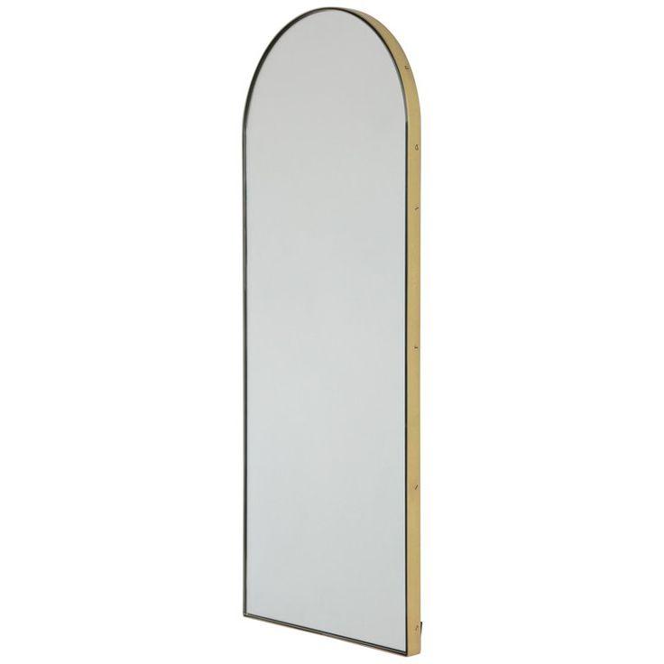 Modern Arcus Mirror Brass Frame, handcrafted vintage style ...