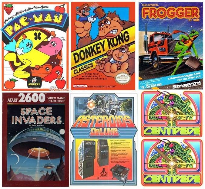 80's Video Games Retro Game Art Pinterest Videos