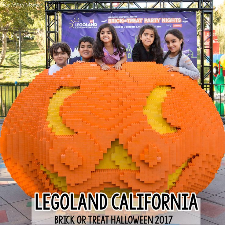 Legoland California Brick Or Treat, Legoland Halloween, Halloween Lego Events #lego #halloween