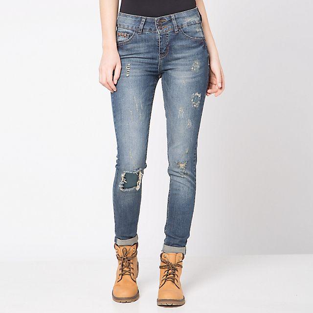 Jeans Rasgados Sybilla - Falabella.com