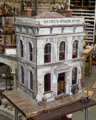 Sadie's Stage shop, an estate miniature