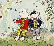 Alfred Bestall - Rupert Bear & Bill Badger