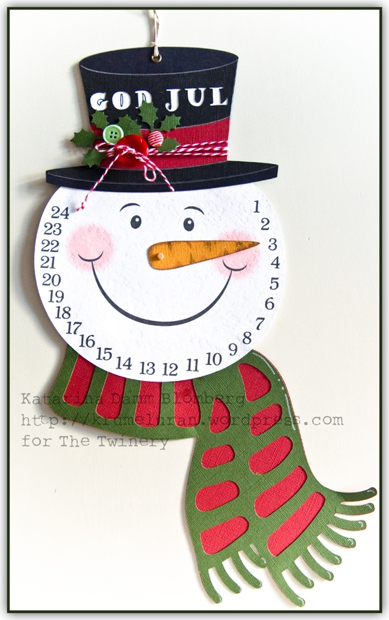 Christmas Calendar For Kids : The twinery christmas is coming snowman countdown