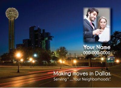 Texas - Dallas Realtor Postcard  http://postcardspromo.com