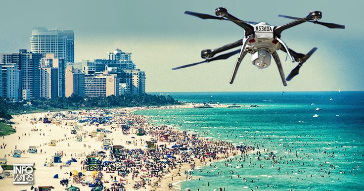 The latest policing tool to monitor rowdy spring breakers: Drones