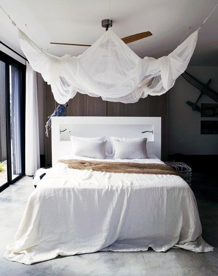 Mosquito Net Canopy by Piet Boon | Remodelista