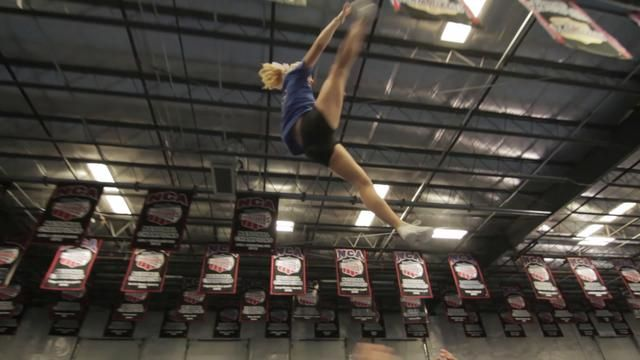Cheer Athletics Cheetahs prepare for The 2013 MAJORS by The JAM Brands