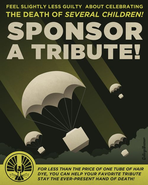 Feel slightly less guilty about celebrating the death of several children! Sponsor a tribute!