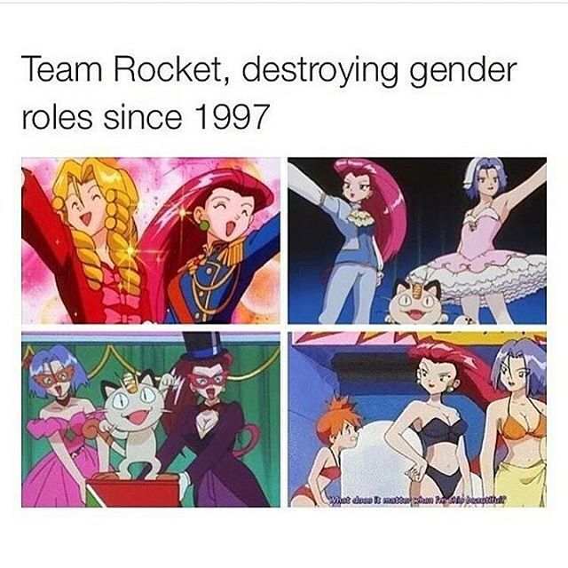 Yessss I actually really like team rocket