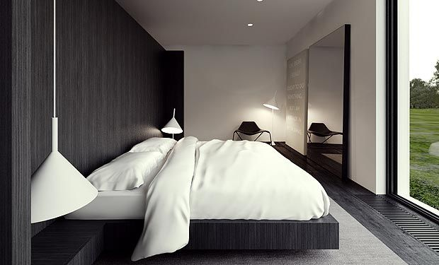 I want a bedroom like that! -- Tamizo Architects Group in Pabianice, Poland