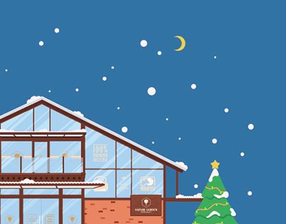 """Check out new work on my @Behance portfolio: """"Flat Illustration - Christmas Greeting"""" http://be.net/gallery/47986925/Flat-Illustration-Christmas-Greeting"""