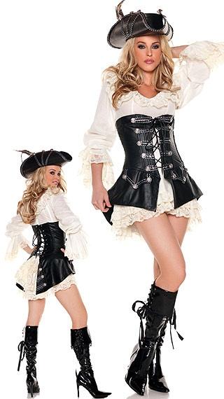 Rouge Pirate Costume