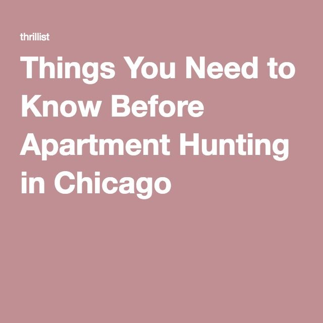 Things You Need to Know Before Apartment Hunting in Chicago