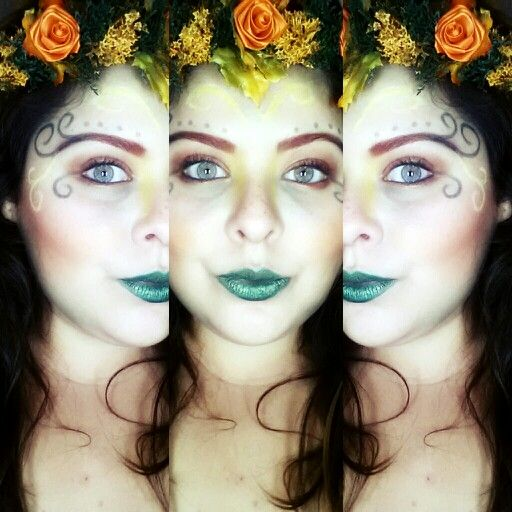 Forest fairy makeup