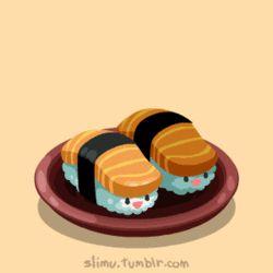 jumping sushi