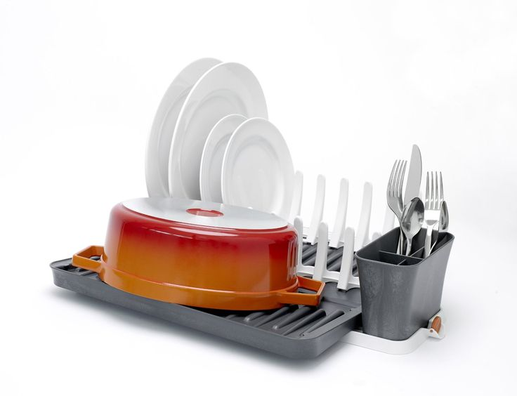 LITTLE BIG LIFE: This is what you want to have in a small kitchen: a foldable dish rack!