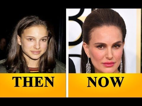 Natalie Portman through the years (then and now)
