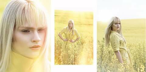 Yellow fun - fairy tale makeup DeriDoraPhotography