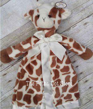 Giraffe Baby Security Blanket Lovie