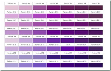 how to make different shades of purple