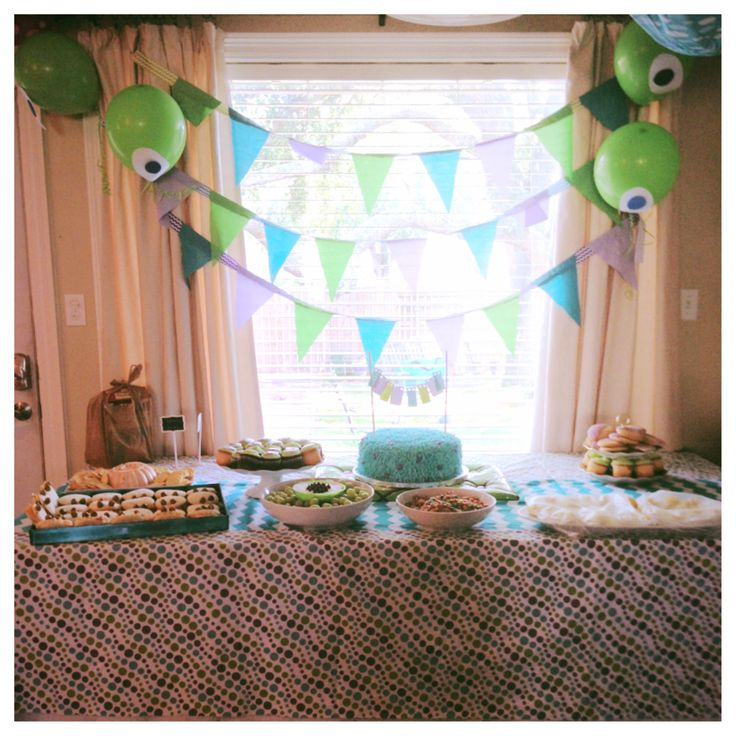 Our monsters inc party!