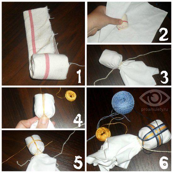 Процесс создания Куклы-Берегини