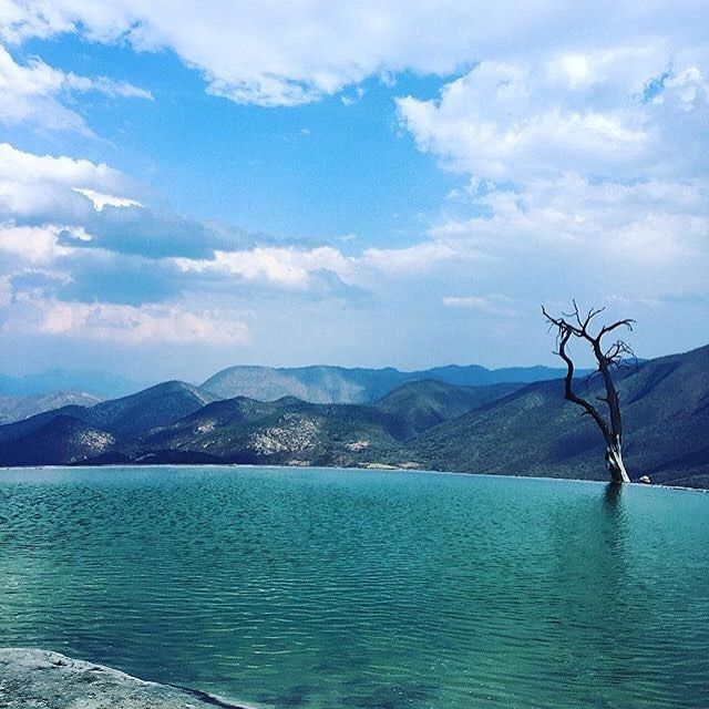 Take me  . Hierve el Agua in Oaxaca  Mexico is one of the most amazing places I have ever been . No Filter Needed  #worldcaptures #beautifuldestinations #PassionPassport #WorldPlaces #TravelStoke #TravelAwesome #DarlingWeekend #BBCTravel #LoveTheWorld #GuardianTravelSnaps #ABMtravelbug #meettheworld #30xthirty #IgersLondon #worldnomads #FodorsOnTheGo #Travel #sun #sea #sand #instagood #instatravel #throwback #tb #mexico #nature #oaxaca #nofilter