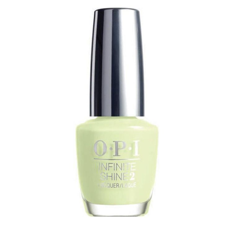 OPI Infinite Shine 0.5 oz ISL39 S-ageless Beauty. INFINITE SHINE - Gel Effects Lacquer System. You are in know   PRIME. LACQUER. GLOSS. 3 Easy Steps   NO LED OR UV LIGHT   SHINE LASTS UP TO 10 DAYS   REMOVES LIKE OPI LACQUER   30 OPI SHADES PLUS MANY MORE TO COME IN 2015