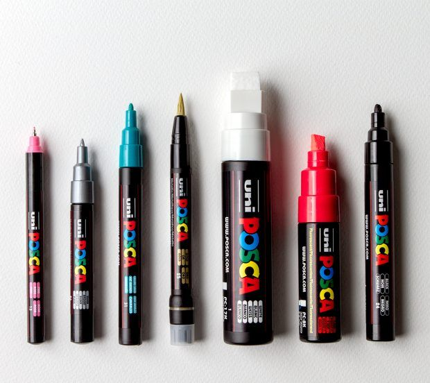 Posca pens are perfect for painting jacksons artmarker penbrick