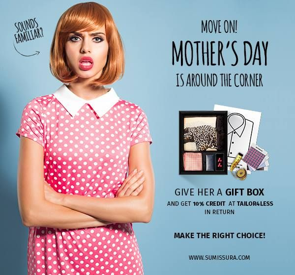 Move on for Mother's Day!  http://www.sumissura.com/en/women/gift-box/
