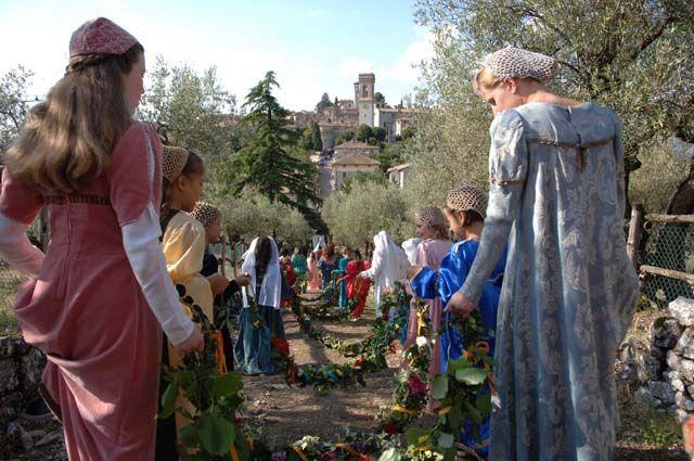 Corciano Festival : rievocazione storica .