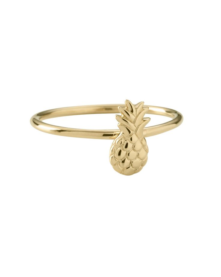Pineapple Ring - 18K Gold by Kirstin Ash. Get yours now for $95.00 SGD! #naiise #accessories