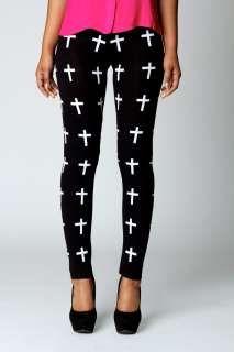 † Cross printed leggings <3<3