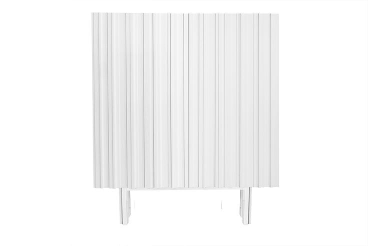 Vitt skåp / white cabinet Hermanus, design Björn Welander