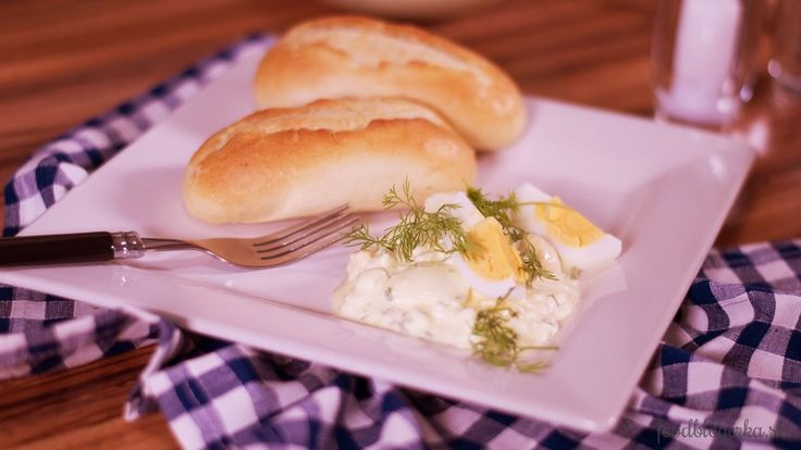 Vajíčkový šalát s cottage cheeseom  | Egg salad with cottage cheese