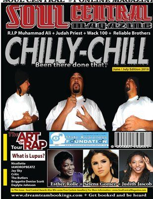 Other Publications: Soul Central Magazine June /July edition 2016 , $15.00 from MagCloud