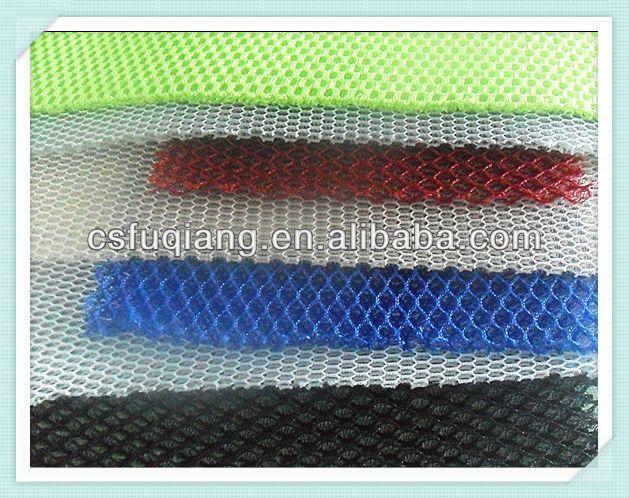 warp knitted 3D spacer mesh fabric ,high density 3D air mesh fabric