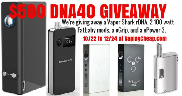 dna 40 giveaway