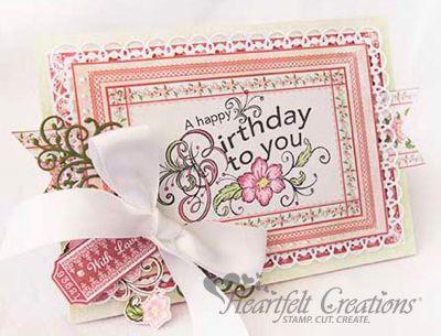 Heartfelt Creations | Happy Birthday Blooms