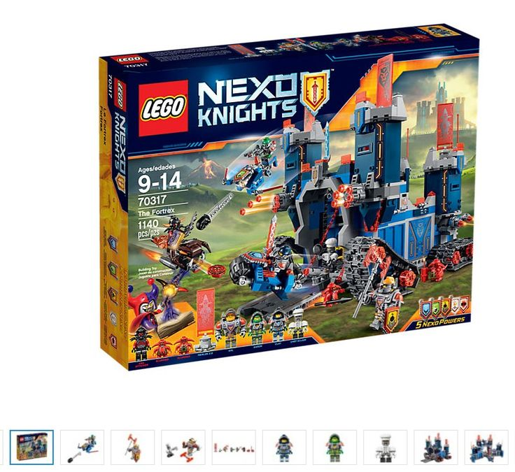 LEGO Nexo Knights The Fortrex 70317 New Sealed Set #LEGO