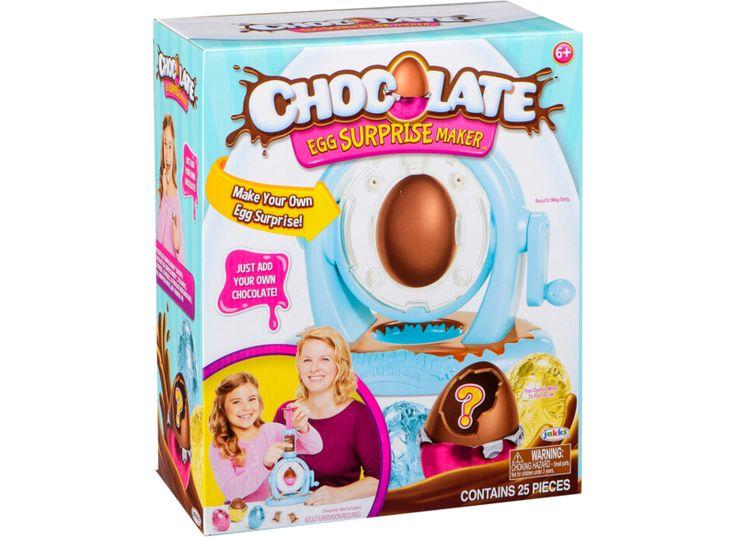 Chocolate Egg Surprise Maker. Eller andet chokoladesæt
