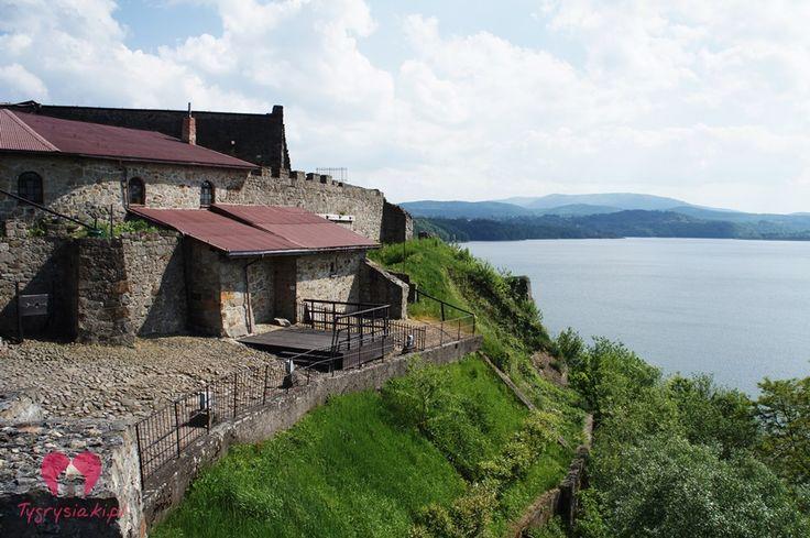 Dobczyce, Poland - castle and lake