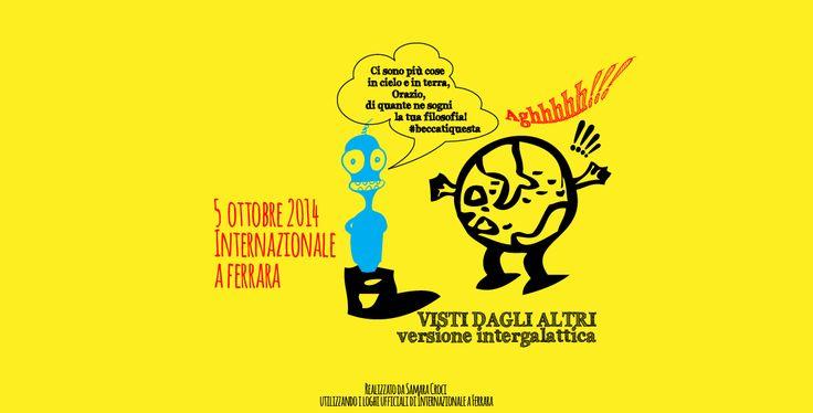 Terzo e ultimo giorno di Festival di #Internazionale a Ferrara #intfe http://samaracroci.wordpress.com/2014/10/12/terzo-giorno-festival-di-internazionale-a-ferrara/