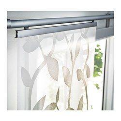 IKEA - ÅDERBLAD, Panneau, Le motif est légèrement en relief sur le fond extra-fin et crée un jeu d'ombre et de lumière décoratif.Un panneau est idéal pour créer une solution superposée pour fenêtre, pour séparer une pièce ou cacher un rangement.Vous pouvez couper le panneau à la longueur désirée sans avoir à faire d'ourlet.