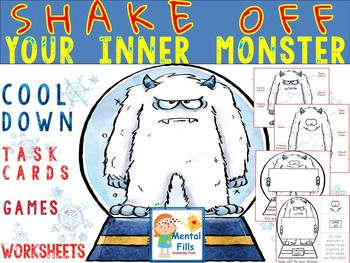 Using the inner monster to represent anger or frustration, this activity helps identify physiological changes in the body, triggers that fuel negative mood shifts, and coping strategies to shake off the monster before he destroys ones pride. Product includes: *Posters with signs of physiological anger and calm*Discussion task cards with 24 common anger triggers and 40 coping skills.
