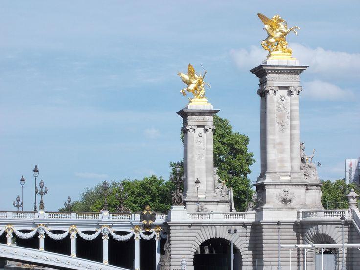 Le pont Alexandre III à Paris.