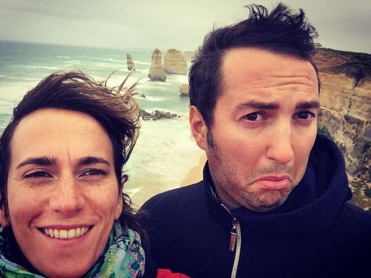 Aggiornamento.2 Da Melbourne (42 gradi) siamo partiti in macchina in pantaloncini e canotta verso la #greatoceanroad  Port Cambell (16 gradi e vento) canotta camicia felpa sciarpa e giacca vento!...meglio non rischiare  i 12 Apostoli nonostante il tempo spaccano!! #12apostles #australia #itrentenni #trentenni #iaiaedavide #lunadimiele #viaggio #roadtrip #portcampbell #2016 #surf #surfer #surfing #wind @Australia ... @iaia_sirena @Davide Conconi Ilaria by itrentenni ift.tt/1ijk11S