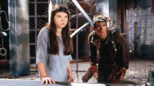 The Girl From Tomorrow first came out around 1991, written by Mark Shirrefs & John Thomson.  It sparked a minor renaissance in children's SF in Australia.