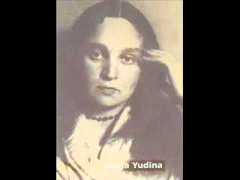 Maria Yudina plays Mozart Sonata No. 14 in C minor K 457