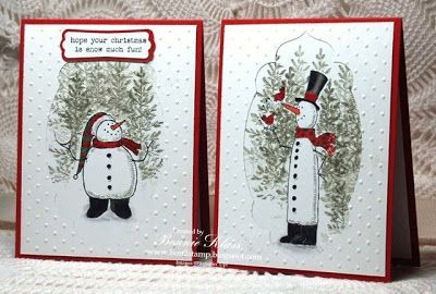 Stamping with Klass: Snow Much Fun X 2